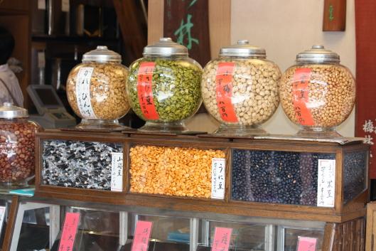 Cubic rice crackers shop