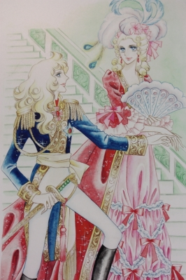 Lady Oscar and Marie Antoinette