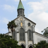 Oura Catholic church & Saint Kolbe, Nagasaki