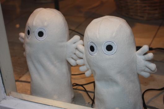 Moomins Hattifattener dolls