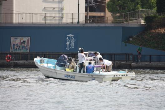 Boat at Sumida river