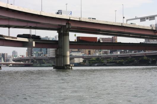 Shuto Expressway's Ryogoku Oohashi bridge