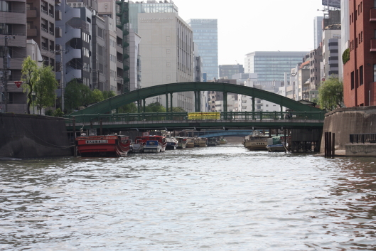 Yanagi-bashi bridge at Kanda river