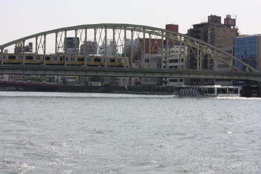 JR Sobu lin's bridge