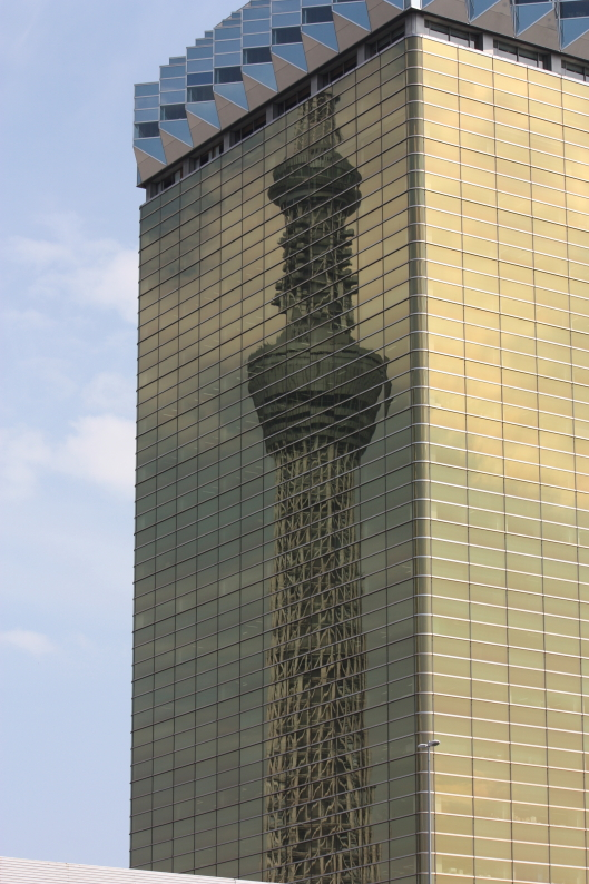 Tokyo Skytree and Asahi Breweries building