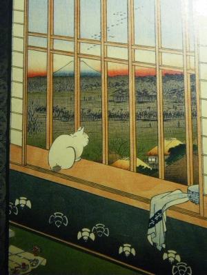 """Hiroshige Utagawa, """"Edo 100 scenes, Asakusa"""""""