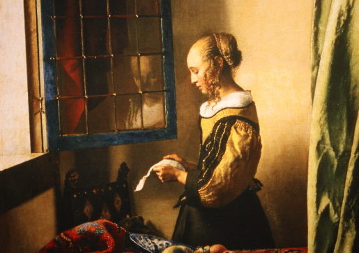 girl reading a letter at an open window re create vermeer s complete works at tokyo myau myau s 21954 | vermeer girl reading a letter at an open window3 tokyo