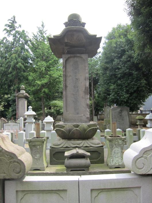 Naosuke Ii's grave at Gotokuji temple