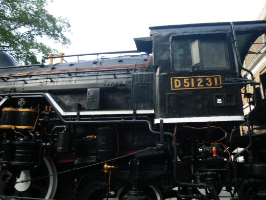 D51-231 steam locomotive