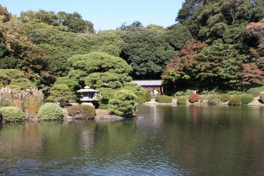 Shinjyuku Gyoen, Japanese garden