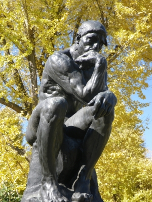 The thinker of Rodin