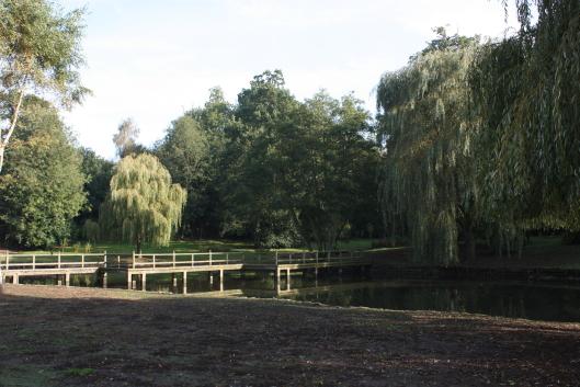 Leeds Castle, garden