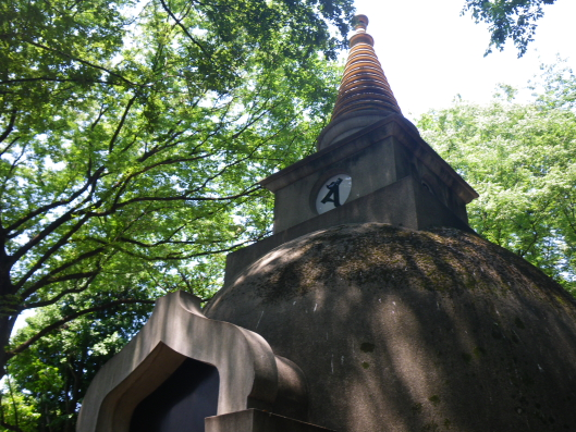 Ueno Daibutsu's pagoda