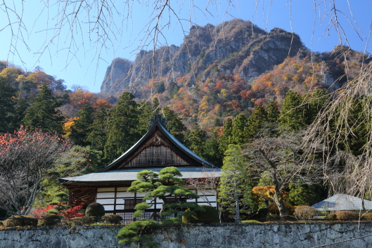 Myogi shrine and Mt. Myogi